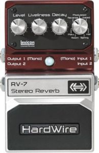 Hardwire RV-7 Stereo Reverb