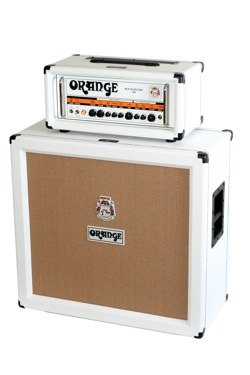 Orange Amps Limited Edition 2009 White Finish