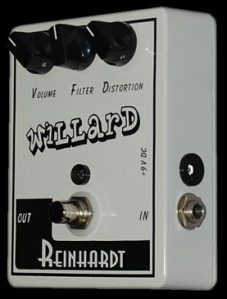 Reinhardt Amps Willard Distortion Pedal