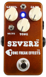 Tone Freak Effects Severe High Gain Distortion Pedal