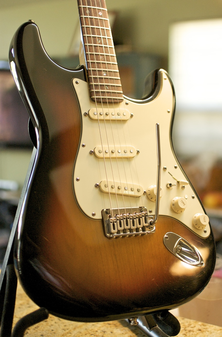 how to get jazz guitar tone on a fender strat
