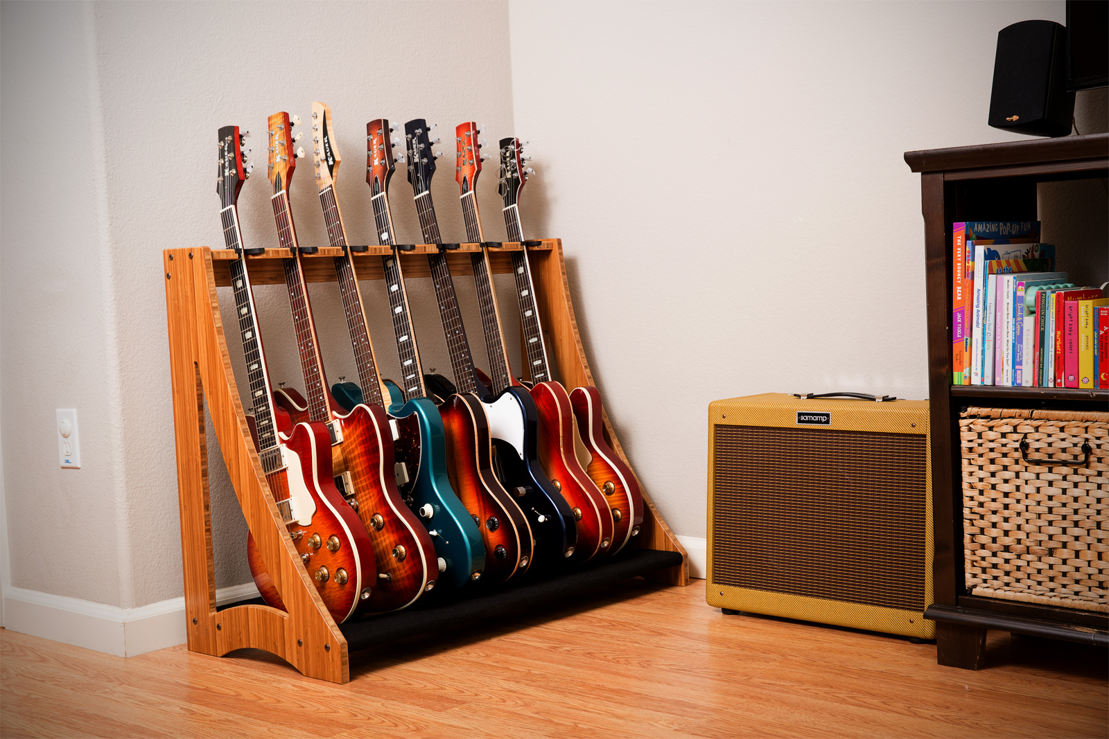 Very Cool Storage Rack Guitar Gear