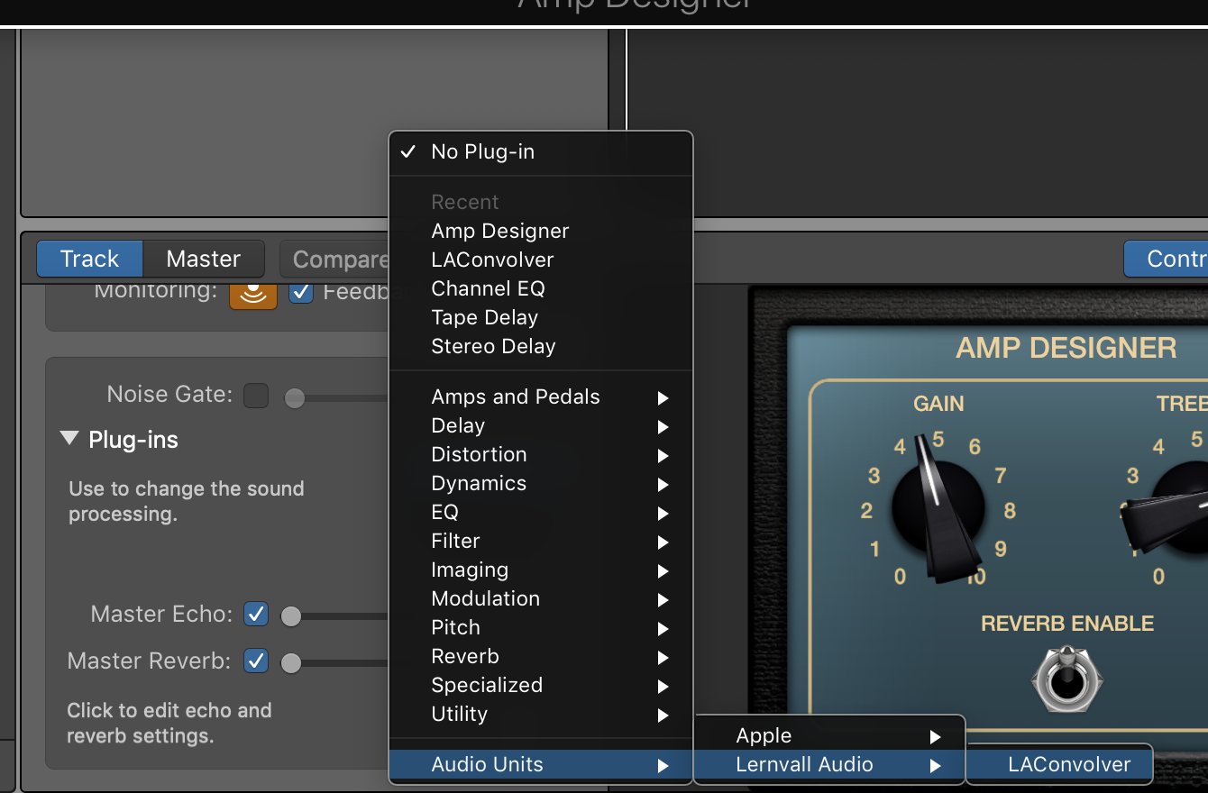 How to Set Up and Use Impulse Responses in GarageBand