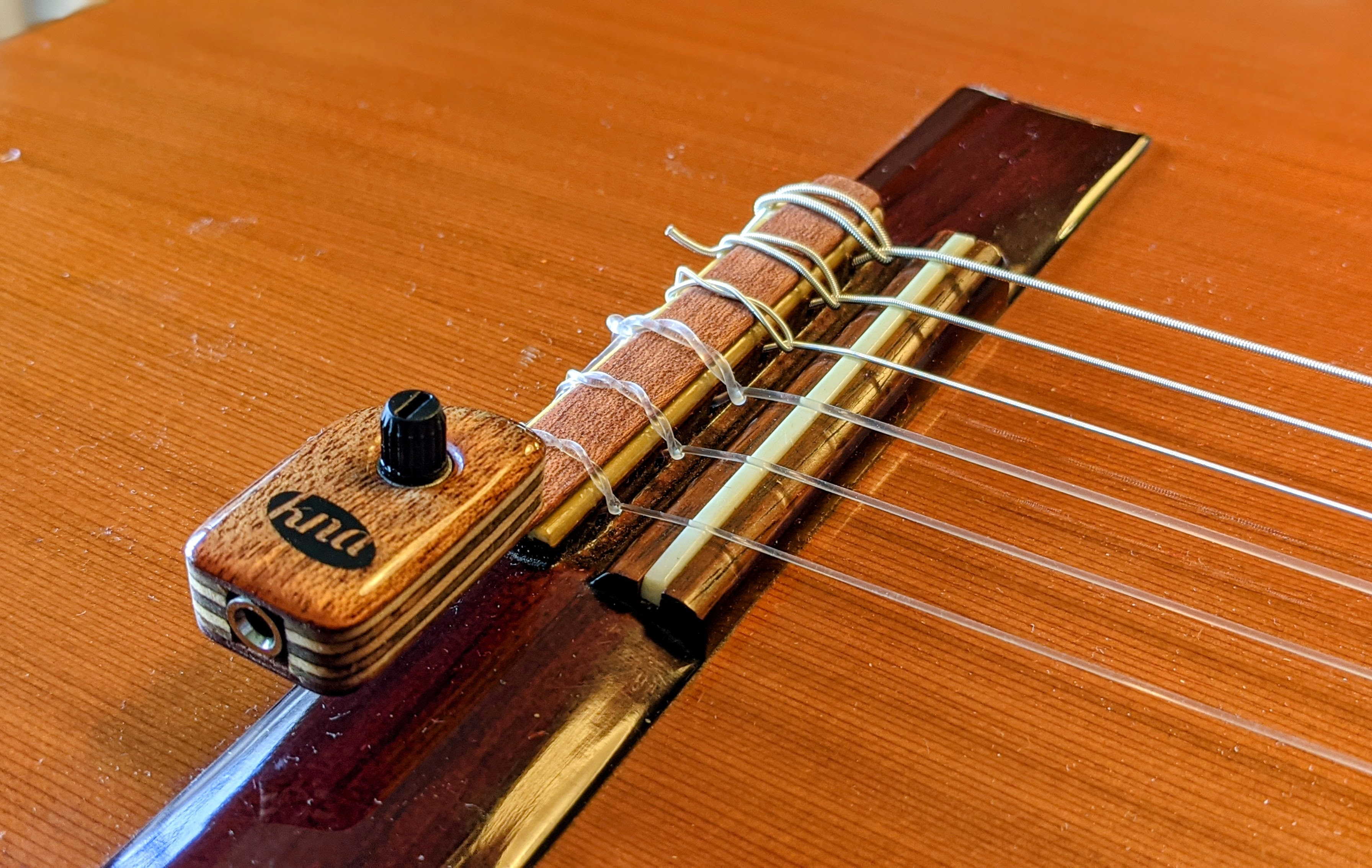 First Impressions: KNA Pickups NG-2 Classical Guitar Pickup   Guitar Gear